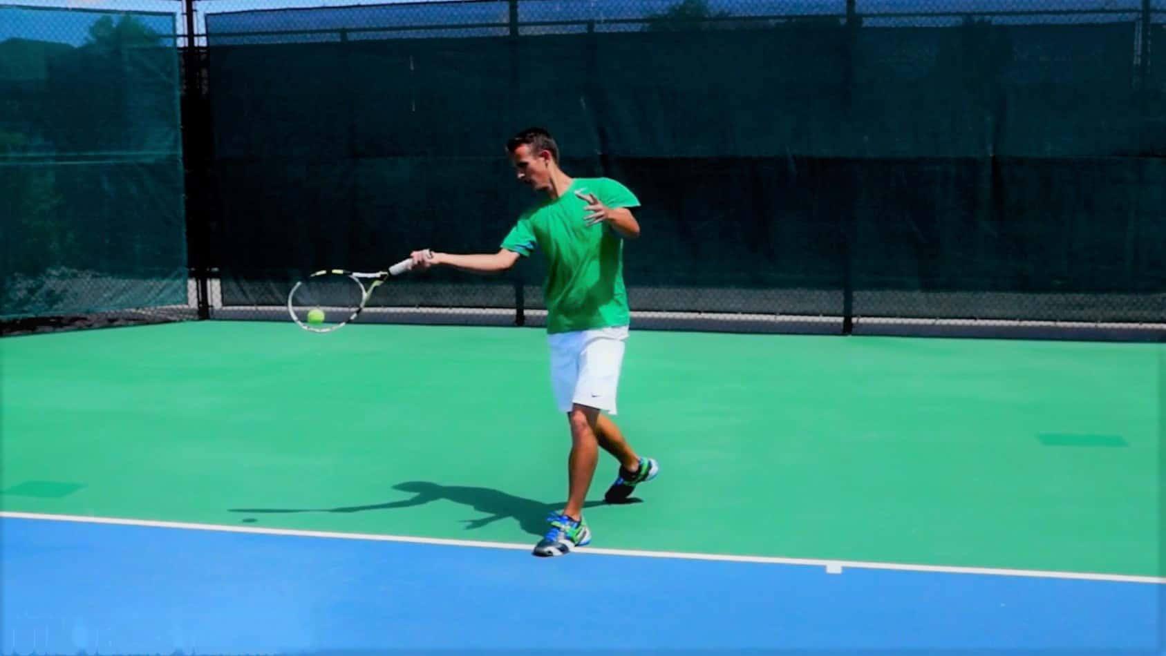 Tennis Forehand Technique Tip