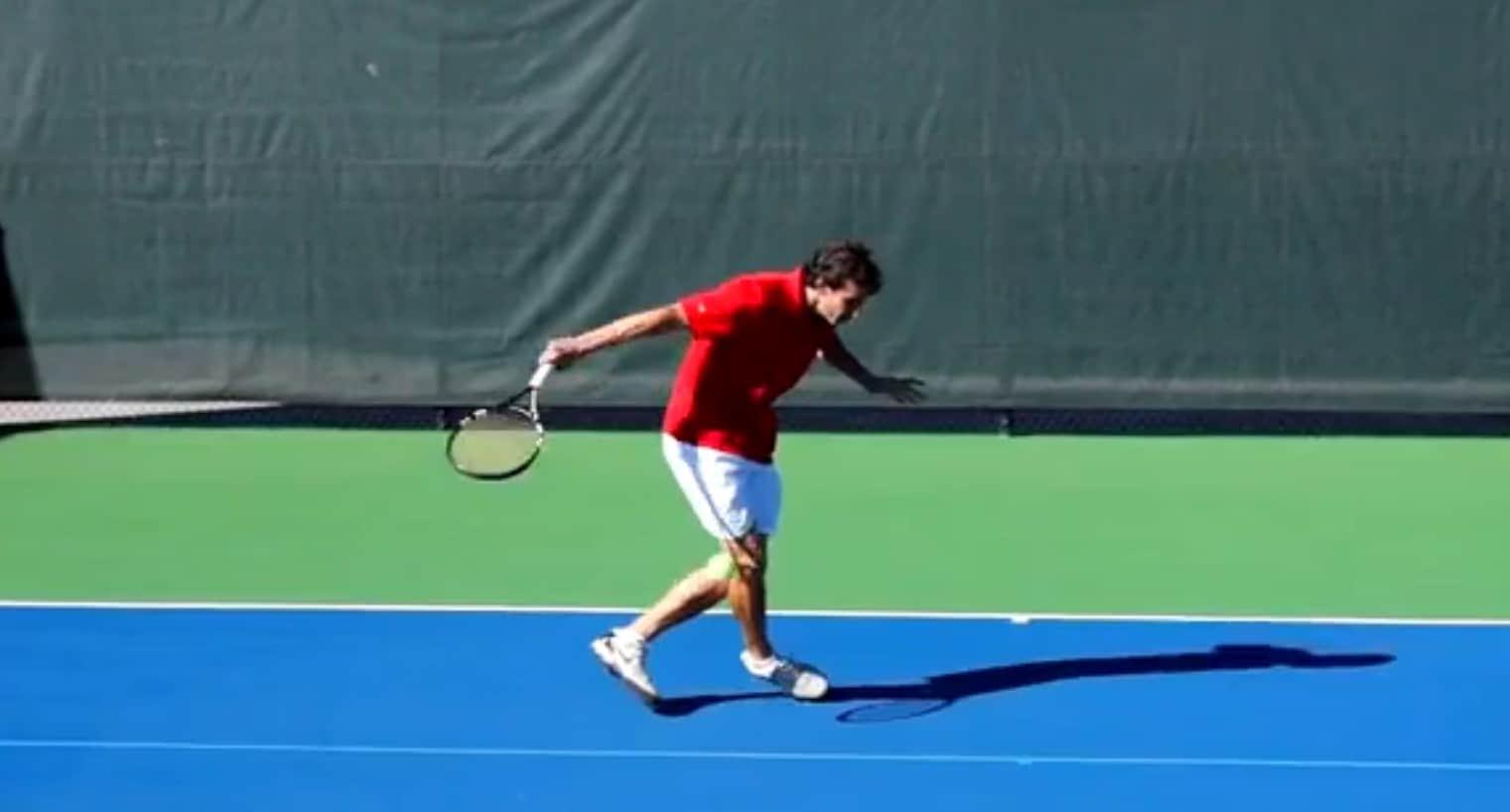 Carioca Tennis Footwork Pattern
