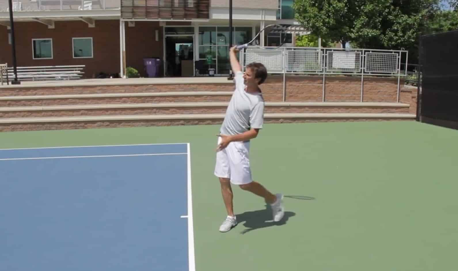 One Handed Backhand Tennis Tip