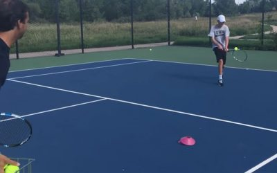 TENNIS FOOTWORK | How To Approach The Net