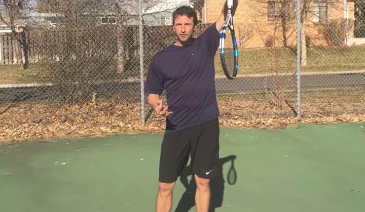 TENNIS SERVE | Kick Serve vs Flat Serve Pronation