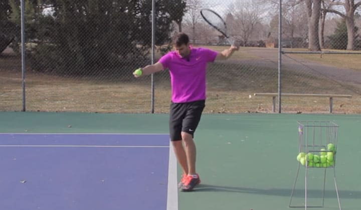 TENNIS SERVE | The Pinpoint Serve Stance Breakdown