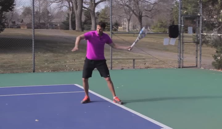 TENNIS FOREHAND | Inside Out Forehand