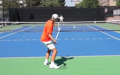 TENNIS FOREHAND | How To Visualize To Hit Better Forehand
