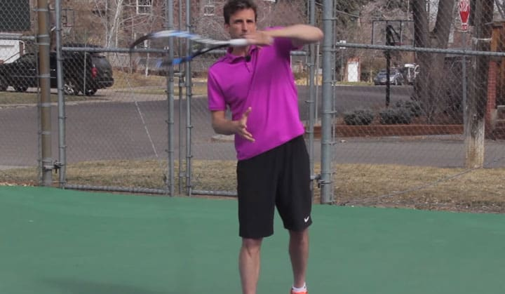 TENNIS FOREHAND | The Federer Forehand Shoulder Secret (How He Does It!!!)