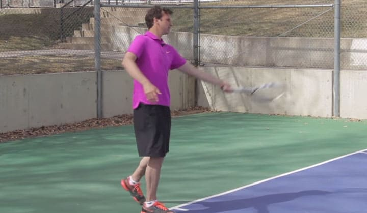 Hit Your Forehand Like This Former Top Pro (How He Did It!!) | TENNIS FOREHAND
