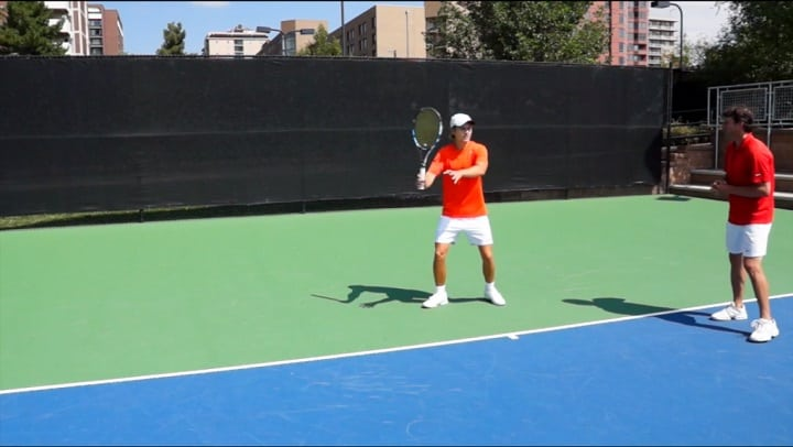 Topspin Forehand First Move