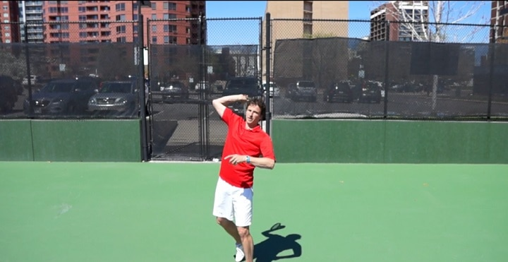 How To Fix Racquet Drop On The Serve