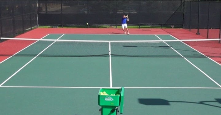 Forehand drill