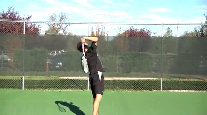 How To Fix Racquet Drop On The Serve By Relaxing Your Arm