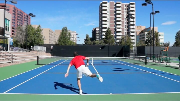 Simple (Yet Effective) Visualization Kick Serve Technique