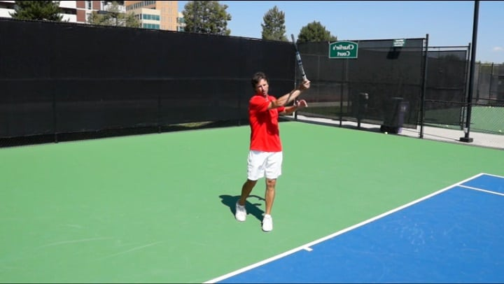 Forehand Swing Path