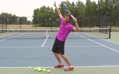 10 Steps To The Perfect Tennis Serve
