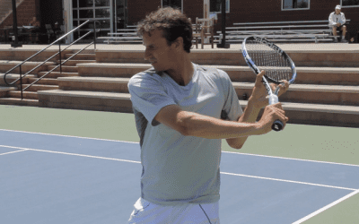 How To Master The High One Handed Backhand