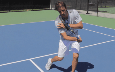 How To Keep Your Arm And Elbow From Collapsing When Hitting A Volley
