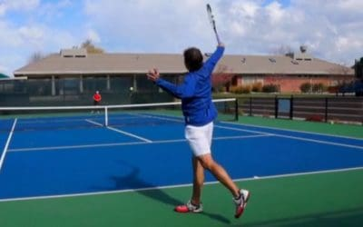How to Fix Missing Long On The One Handed Backhand