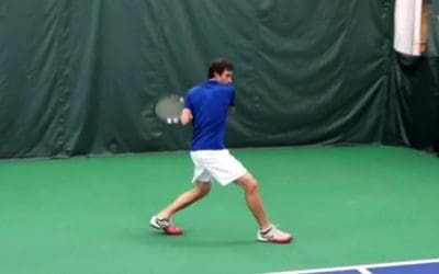 How To Use The Correct Wide Footwork On The One Handed Backhand