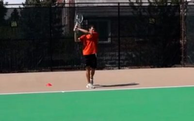 How To Use The Lansdorp Finish On The 2 Handed Backhand