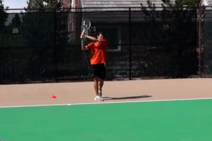 How To Use The Lansdorp Finish On 2 Handed Backhand