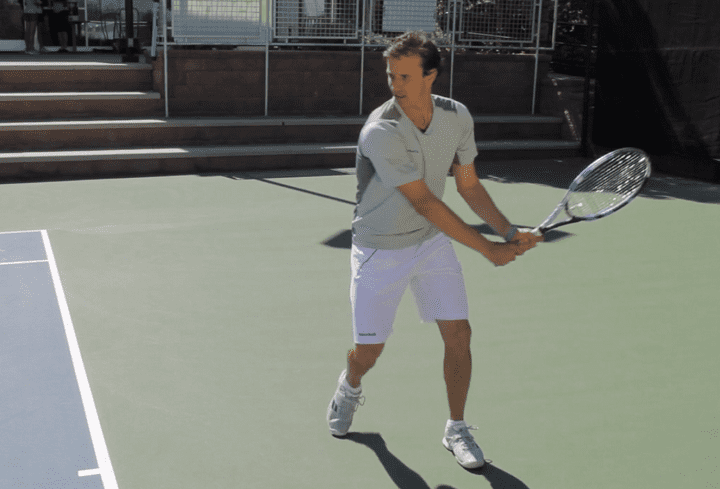 Ditch The Jerky Tempo For More 2 Handed Backhand Power