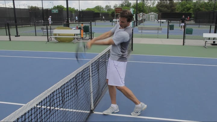 Two Handed Backhand Drills