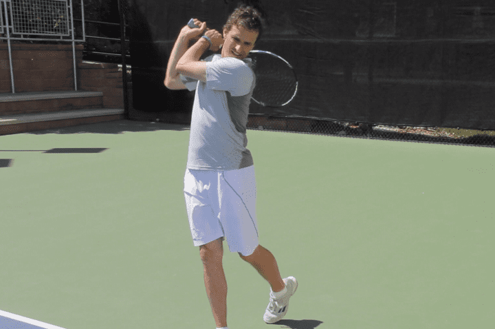 Two Handed Backhand Balance