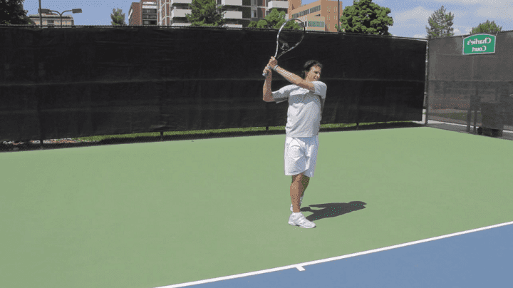 How To Hit A Powerful 2 Handed Backhand With The Lansdorp Finish