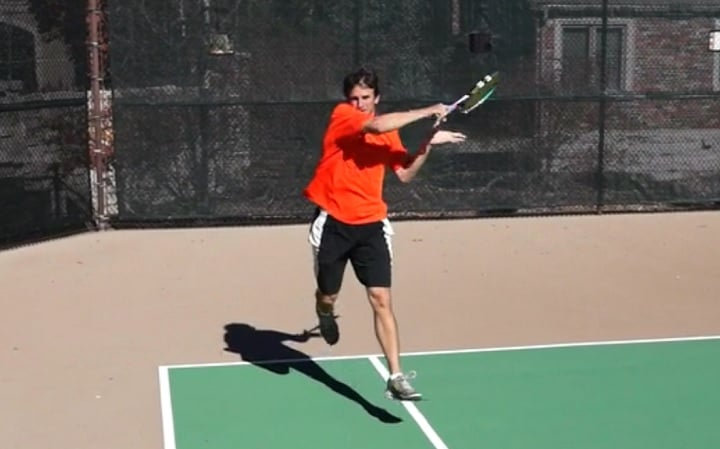 Return Of Serve First Move Footwork