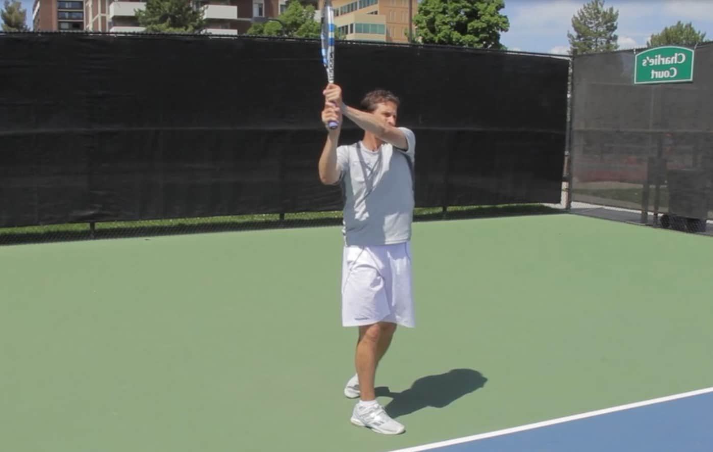 Two Handed Backhand Finish