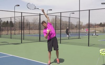 TENNIS SERVE | How To Get Balanced On Your Kick Serve