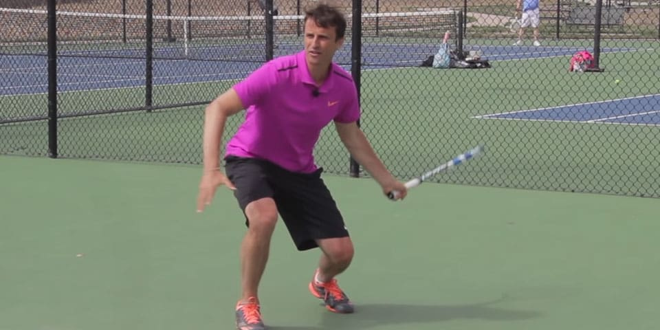 TENNIS FOREHAND | How To Bend Your Knees On Forehand