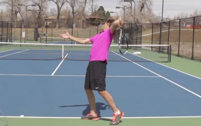 TENNIS SERVE | The Best Stance ON The Kick Serve (GOOD!)