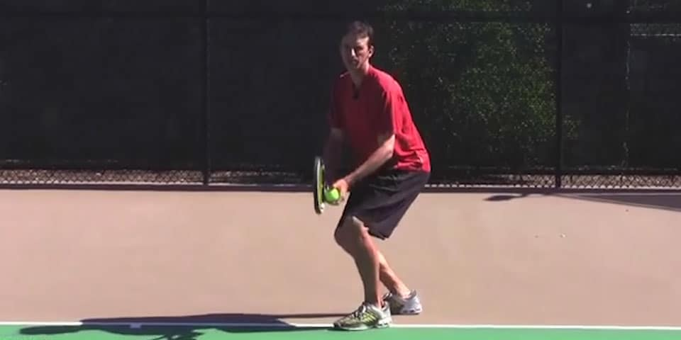 TENNIS SERVE | STOP! Don't Bend Your Knees On Your Serve