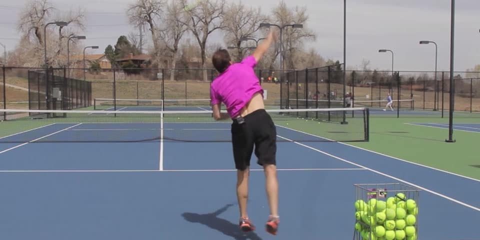 TENNIS SERVE | 5 Reasons You NEED To Use the Slice Serve