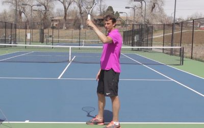 TENNIS SERVE | Simple Kick Serve Drill (FOLLOW ALONG!)