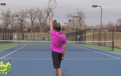 TENNIS SERVE | Best Slice Serve Toss Tip