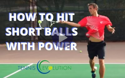 How to Hit Short Balls with Power