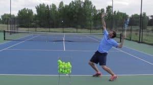 Tennis Kick Serve Mistake