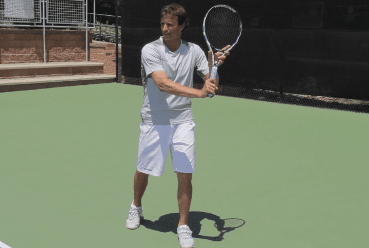 One Handed Backhand Technique Tip