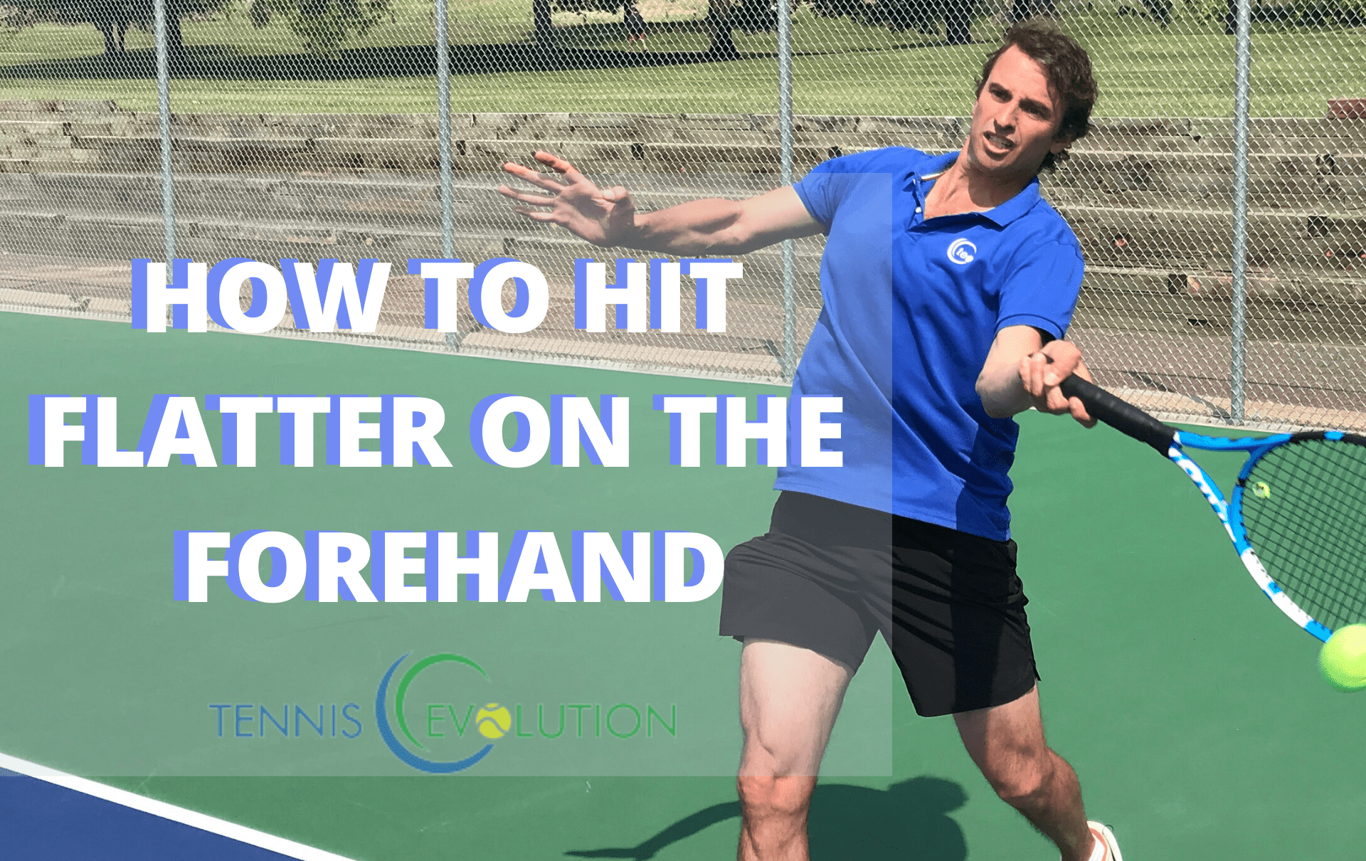 Tennis Flat Forehand Technique