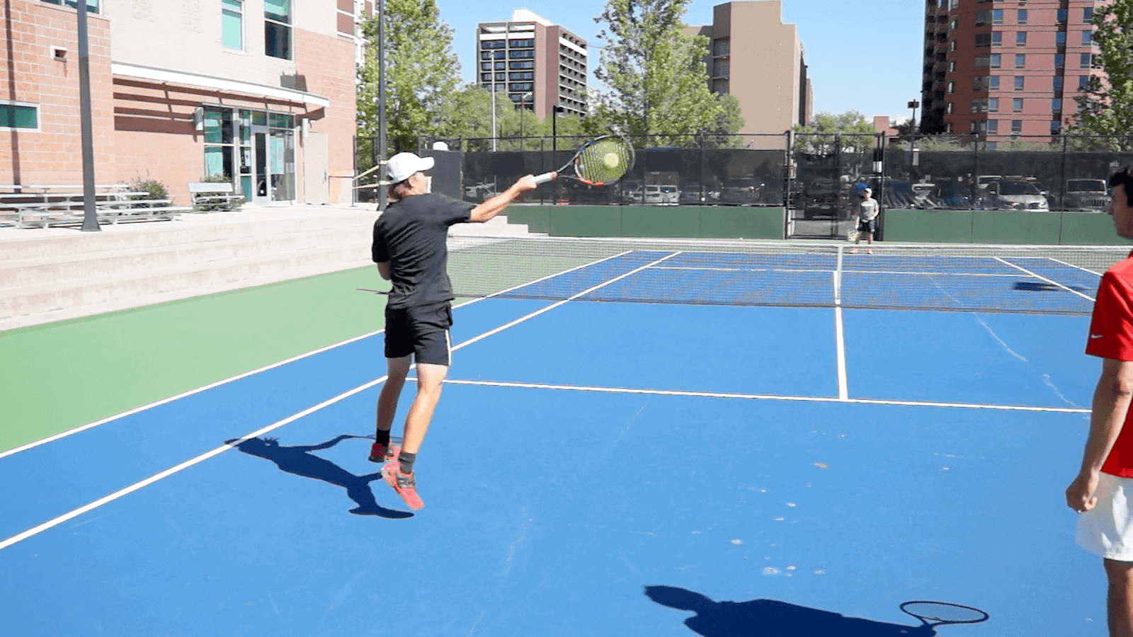 How to attach a second serve in tennis