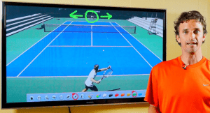 Tennis tactic play
