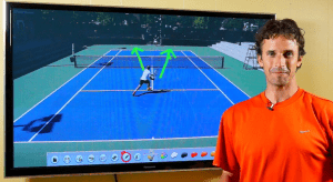 How to serve and volley in tennis