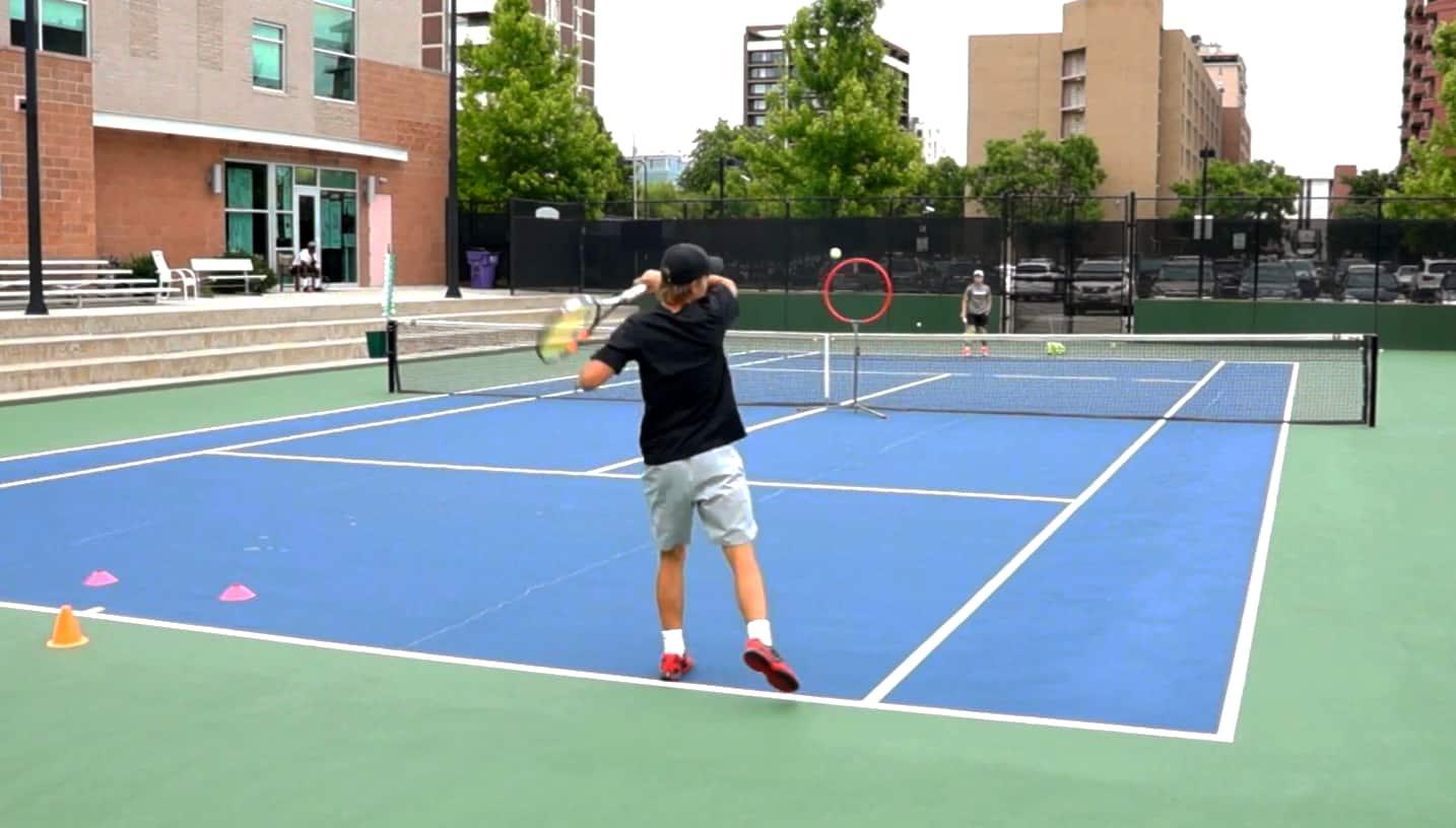 Tennis return of serve tip