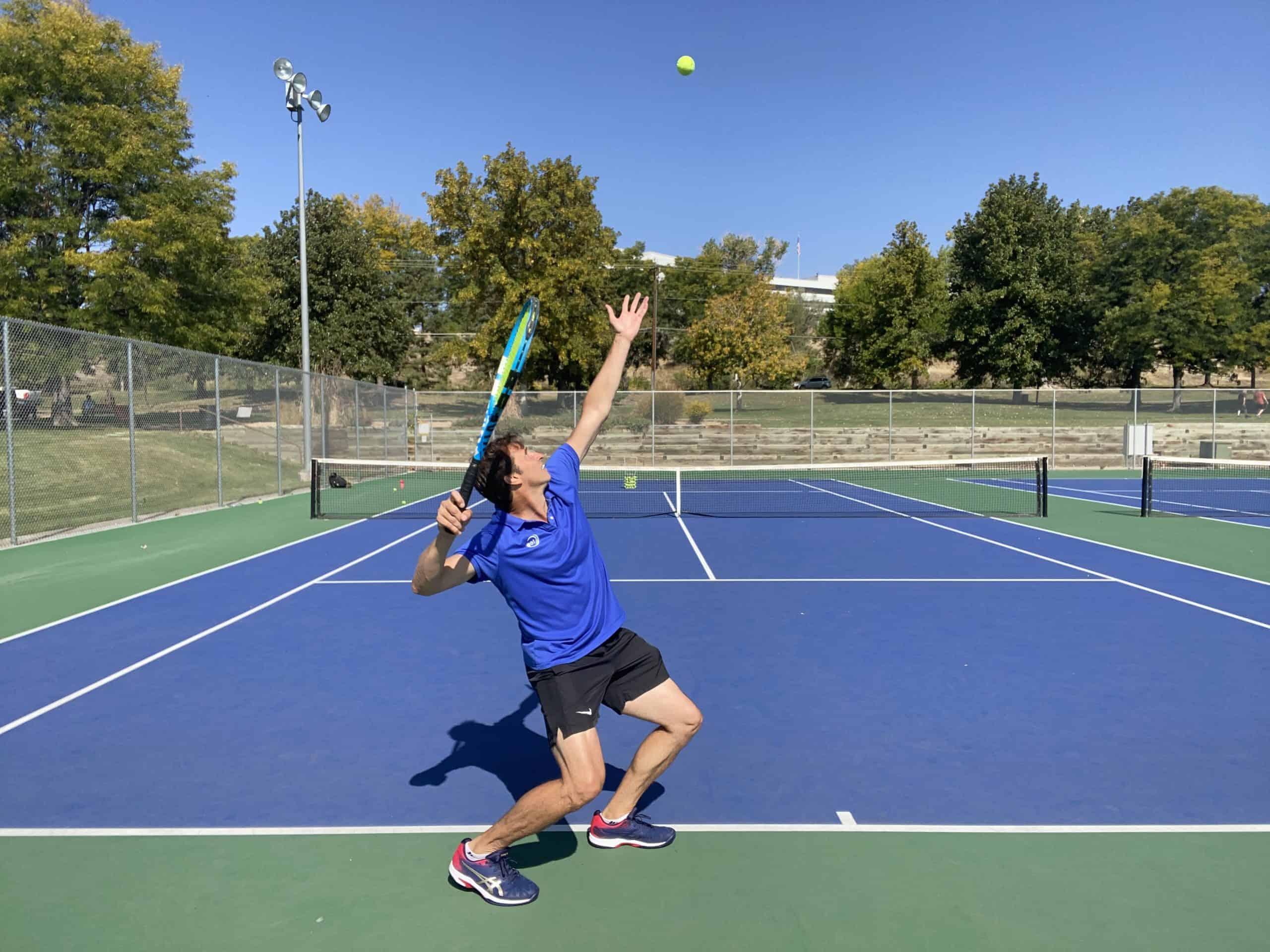 Perfect Tennis Serve